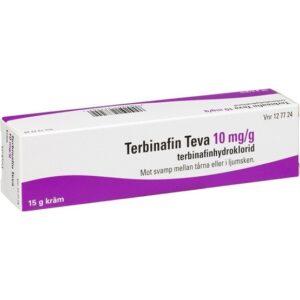 Terbinafin Teva, kräm 10 mg/g 15 gr