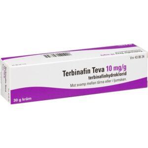 Terbinafin Teva, kräm 10 mg/g 30 g