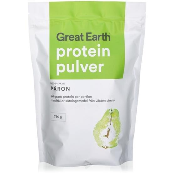 Great Earth Proteinpulver Päron 750 g