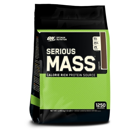 Optimum Nutrition Serious Mass Chocolate 5,45kg