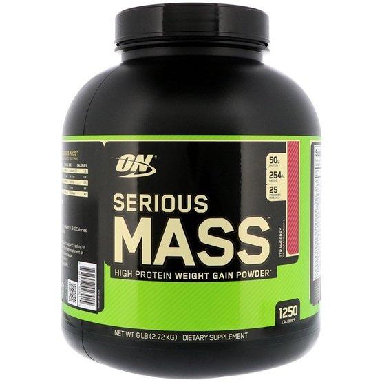 Optimum Nutrition Serious Mass Strawberry 2,72kg