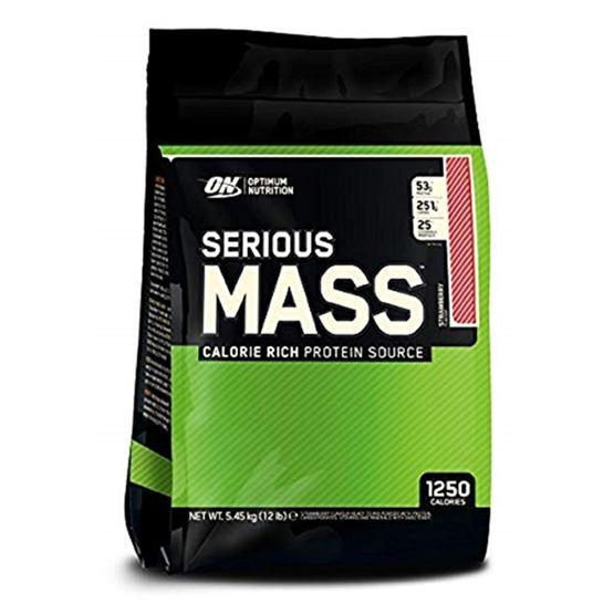 Optimum Nutrition Serious Mass Strawberry 5,45kg
