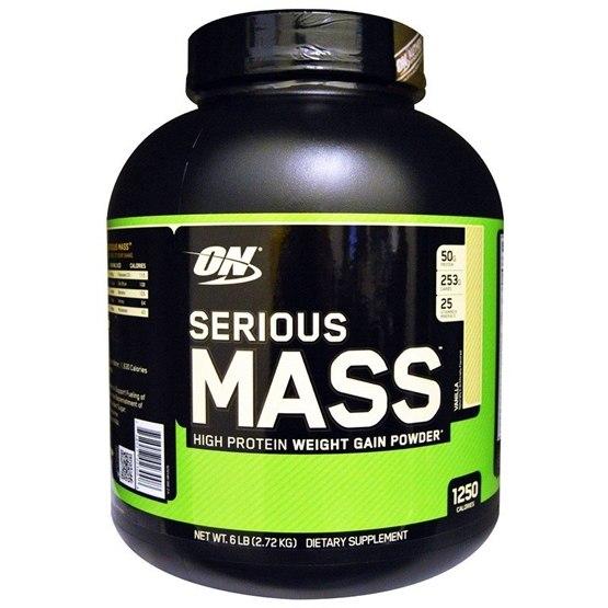 Optimum Nutrition Serious Mass Vanilla 2,72kg