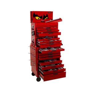 Teng Tools TCMM715N Verktygsvagn med verktygssats, 715 delar