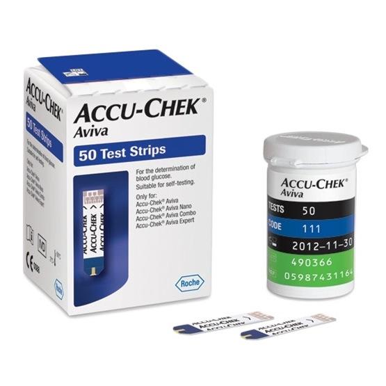 Accu-Chek Aviva testremsa 50 st