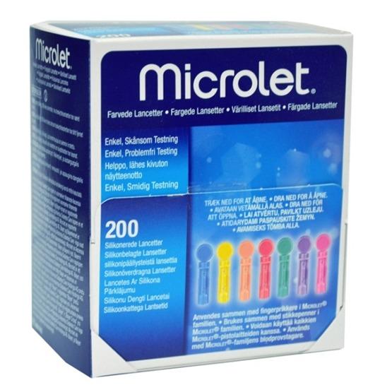 Contour Diabetes Solutions Microlet Lancetter 200 st