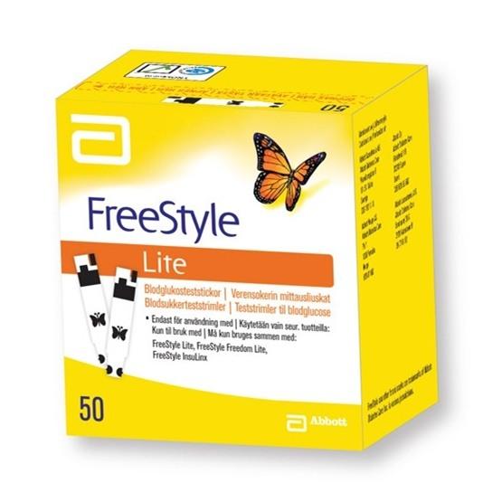 FreeStyle Lite teststickor 50 st