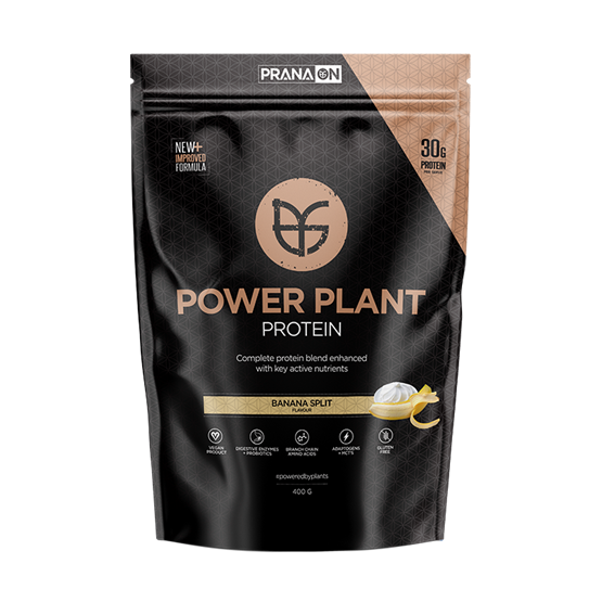 PranaOn Power Plant Protein Banana Split 400 g