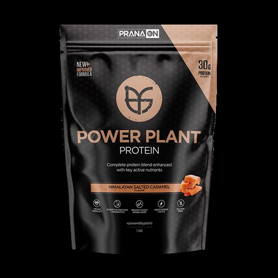 PranaOn Power Plant Protein Himalayan Salted Caramel 1 kg
