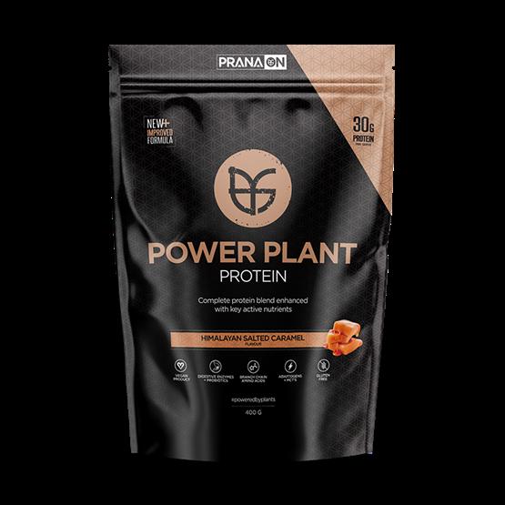 PranaOn Power Plant Protein Himalayan Salted Caramel 400 g