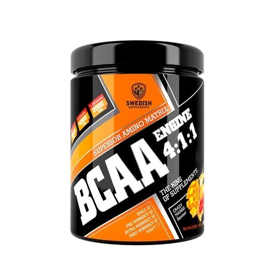 Swedish Supplements BCAA Engine 4:1:1 400 g Crazy Mango