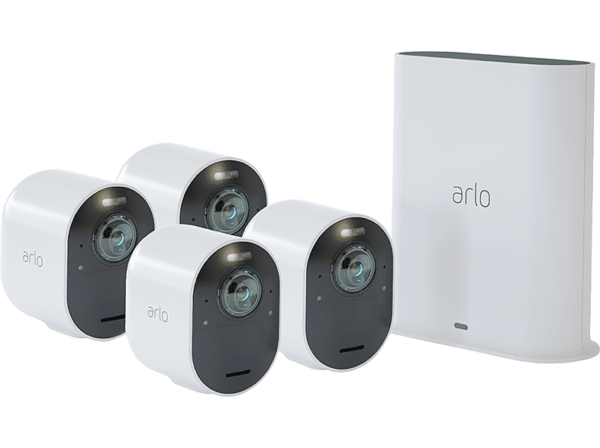 ARLO Ultra 4K UHD Wire-Free Security 4-Camera System (VMS5440)