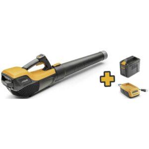 STIGA SAB 500 AE Set Batteri Lövblås 48 V Softgriff, inkl. batteri, inklusive laddningsstation