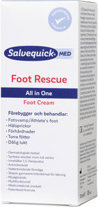 Salvequick Foot Rescue fotkräm 100 ml