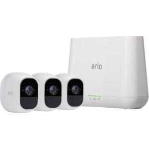WiFi IP- Övervakningskamerasetmed 3 kameror1920 x 1080 pixelARLOARLO PRO 2