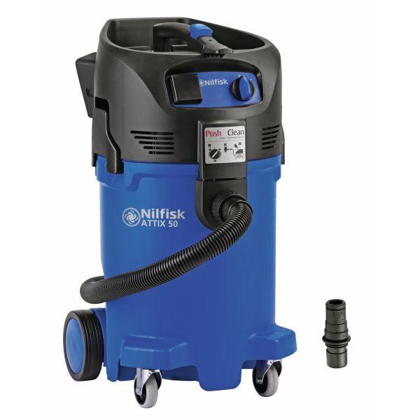 Nilfisk ATTIX 50-21 PC CLEAN ROOM Våt- och torrdammsugare