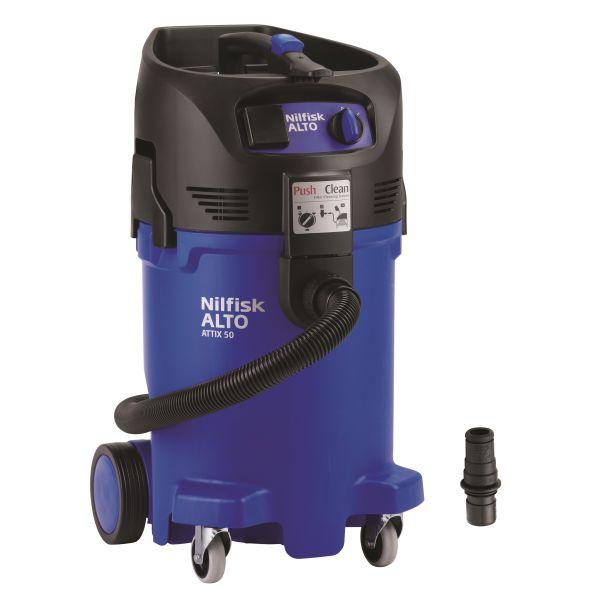 Nilfisk ATTIX 50-21 PC EC Våt- och torrdammsugare