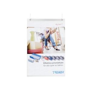Köpguide: Plastfickor - Plastficka A3 frihängade med hål