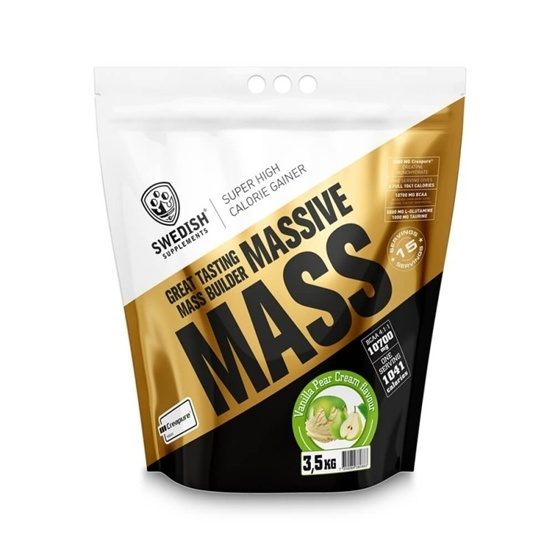 Swedish Supplements Massive Mass 7000 g Vanilla Pear